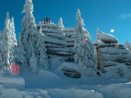 Schneeschuhwandern Dreisessel Dreiländereck Neureichenau Altreichenau Lackenhäuser Schneeschuhtouren Schneeschuhlaufen Schneeschuhwanderungen