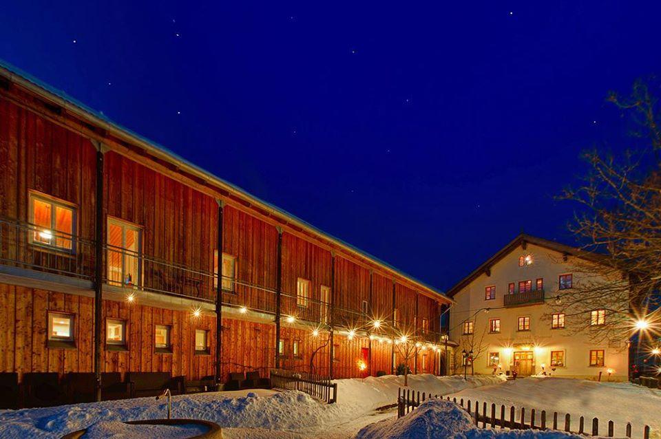 Schneeschuhwandern Waldkirchen Bayerwald Expeditionen Frongahof Pauschale